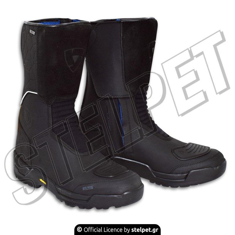 81ff80c61fa Μπότες μηχανής Revit Trail H20 Boot μαύρες - Stelpet.gr