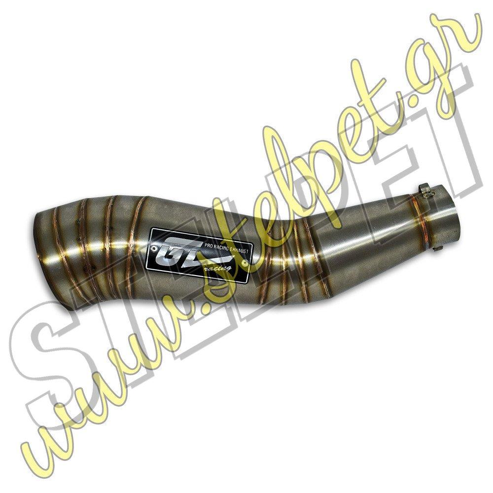 Εξάτμιση ανοξείδωτη honda innova 125 ολόσωμη gl racing - stelpet.gr
