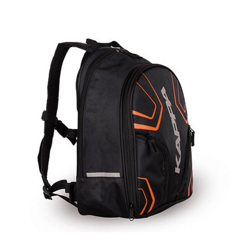 Τσάντα πλάτης Kappa LH2100R μαύρη πορτοκαλί 16 20lt - Stelpet.gr 69e3b2c5813