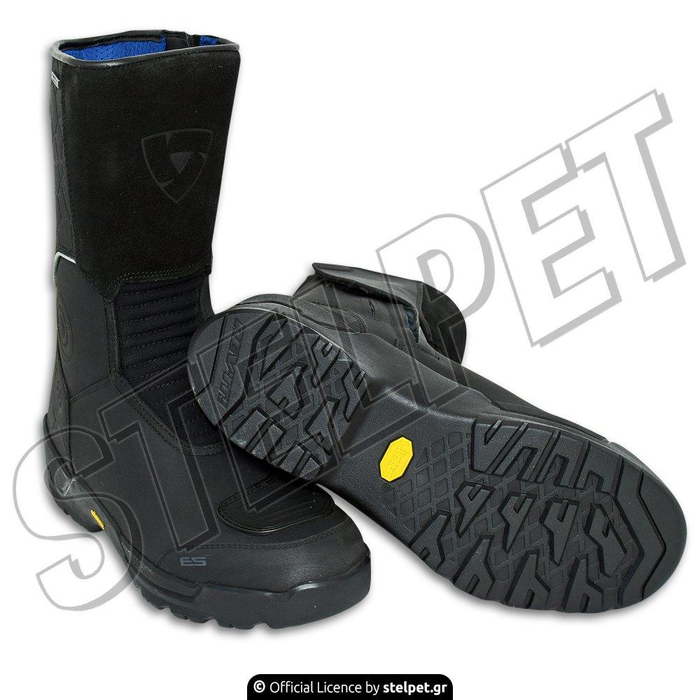 1de3cba8945 Μπότες μηχανής Revit Trail H20 Boot μαύρες - Stelpet.gr