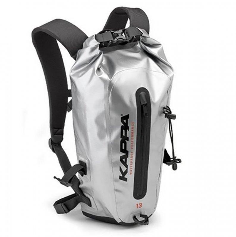Τσάντα πλάτης Kappa WA408S ασημί 13lt - Stelpet.gr e9b905e4a54