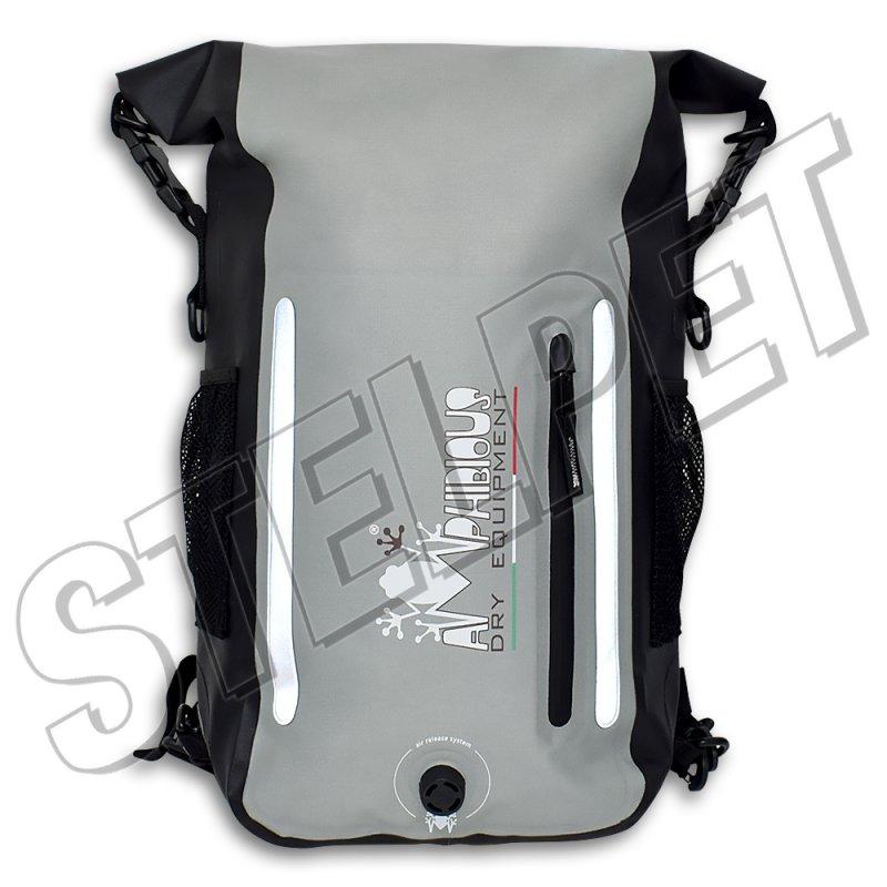 Τσάντα πλάτης Amphibious Atom Light Evo 15lt μαύρη-γκρι - Stelpet.gr 1014c2b52e3
