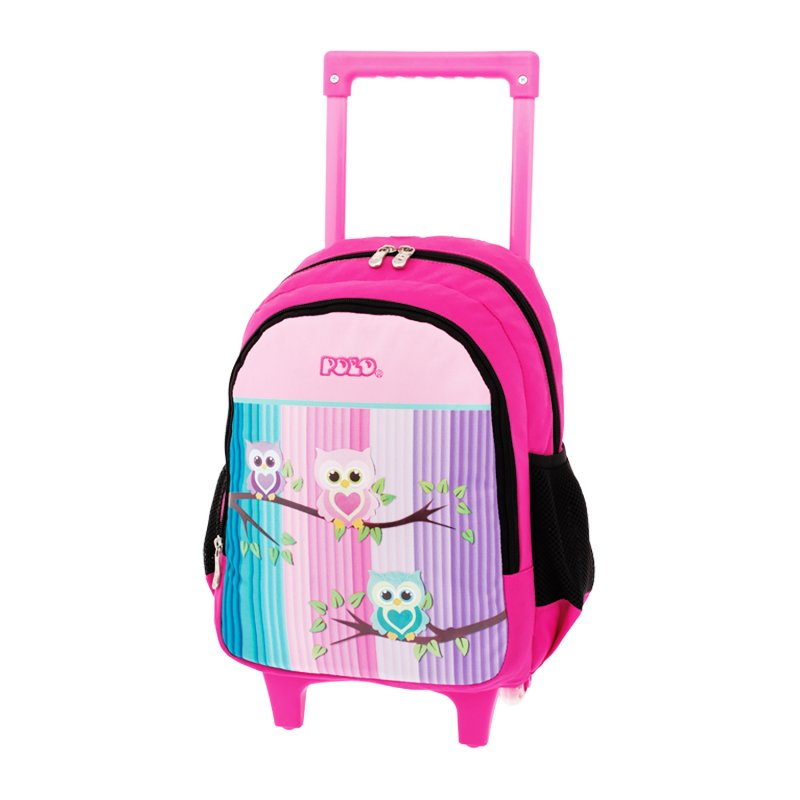 6c54c64167 Τσάντα Τρόλεϊ Polo Animal Junior Owls 9-01-008-71 - Stelpet.gr