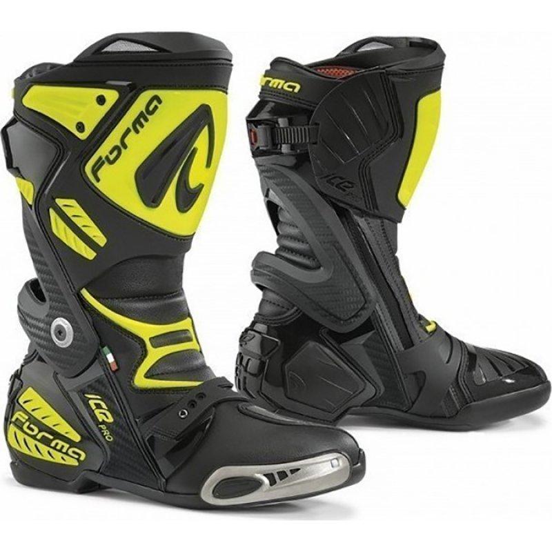 9f1fb2ef737 Μπότες μηχανής Forma Ice Pro μαύρο – κίτρινο fluo - Stelpet.gr
