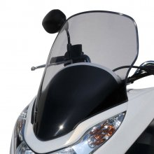 Παρμπρίζ Honda PCX 125/150 '10-'13 light black Ermax