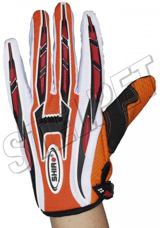 Γάντια μηχανής Enduro Shiro MX-01 Πορτοκαλί - Stelpet.gr d79cc0e75c1