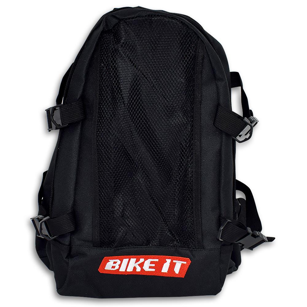 Τσάντα πλάτης Bike IT LUGRSBLK μαύρη - Stelpet.gr 02f0de0b3bd