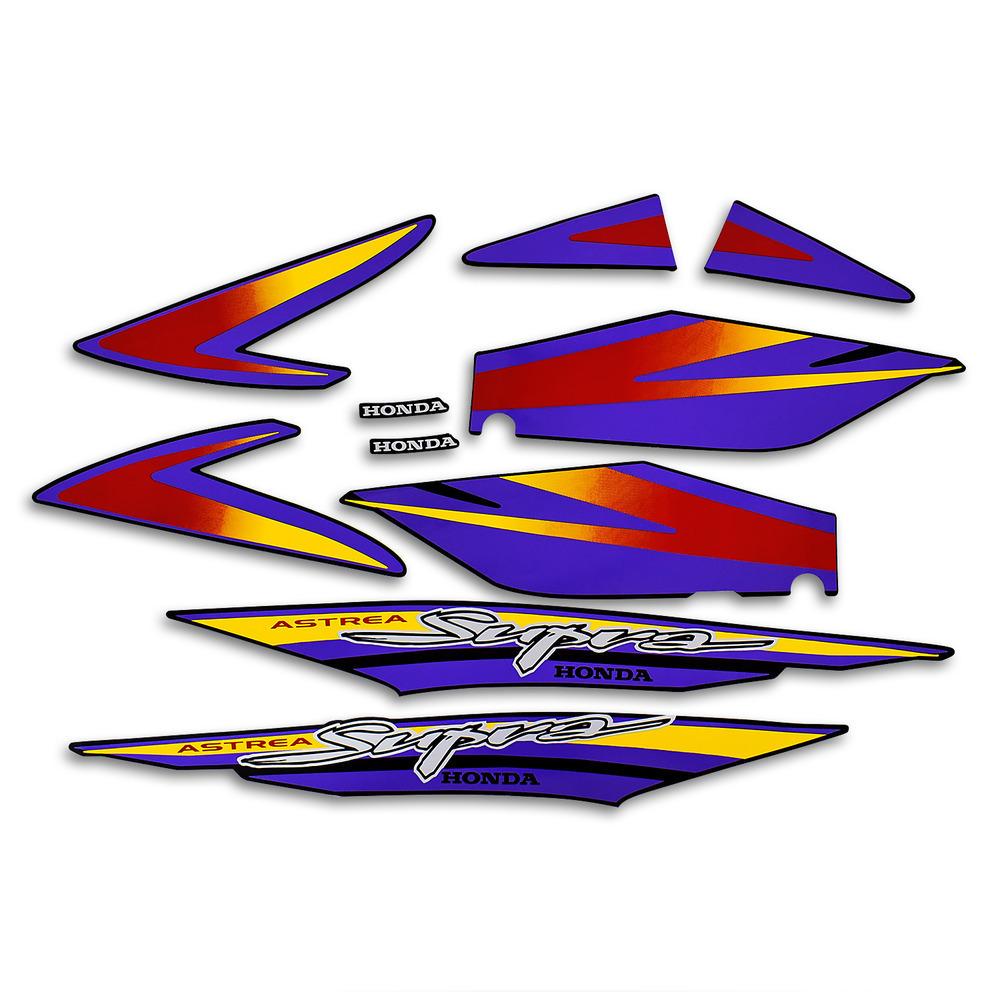 Αυτοκόλλητα Honda Supra 100 σετ - Stelpet.gr cebd593bdee
