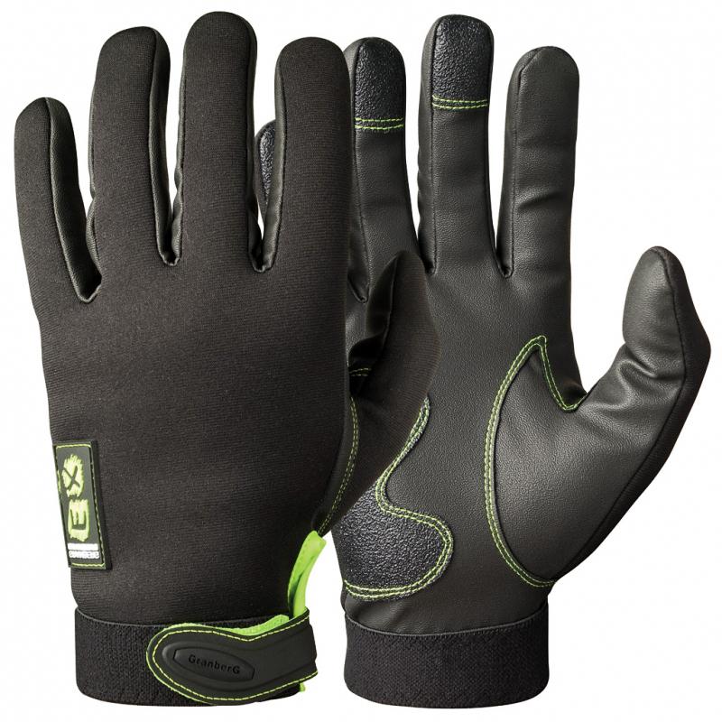 Γάντια μηχανής Granberg EX neoprene μαύρα - Stelpet.gr d6f47b252e8